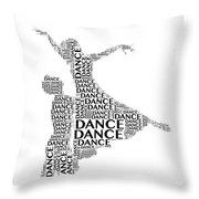 Dance Lift Throw Pillow