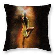 Dance Macabre Throw Pillow