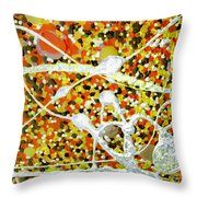 Dance Machine Throw Pillow