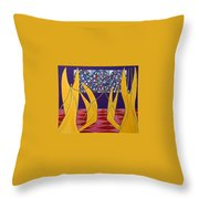Dance Of Angels Throw Pillow