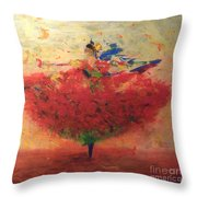 Dance Of Happiness Throw Pillow