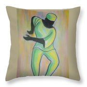 Dance Of Joy Throw Pillow