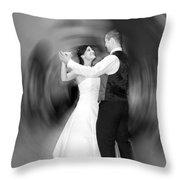 Dance Of Love Throw Pillow