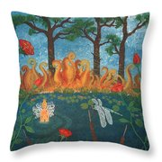Dance Of The Dragonfly. / The Best Is Yet To Come. Throw Pillow
