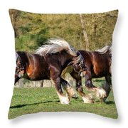 Dance Of The Gypsy Throw Pillow