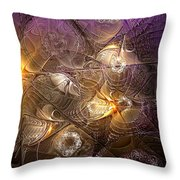 Dance Of The Necromancer Throw Pillow