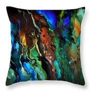 Dance Of The Seahorse  Throw Pillow