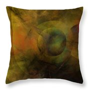 Dance Of The Spheres  Throw Pillow