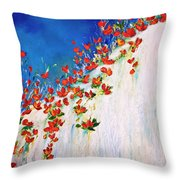 Dance Of The Spring Throw Pillow