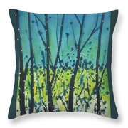 Dance Shadow Throw Pillow