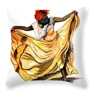 Dance The Belair Throw Pillow
