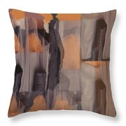 Dance Troupe No 1 Throw Pillow