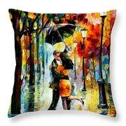 Dance Under The Rain Throw Pillow