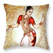 Dancer 1 Throw Pillow