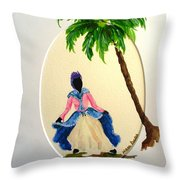 Dancer 2 Throw Pillow