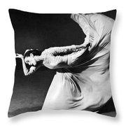 Dancer Martha Graham Throw Pillow