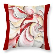 Dancer Throw Pillow