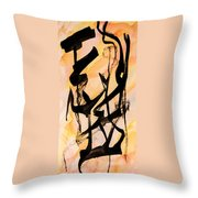 Dancers At The Feast Throw Pillow