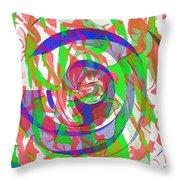 Danceyflam Throw Pillow