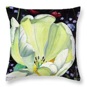 Dancing Alone Throw Pillow