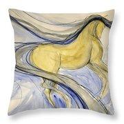 Dancing Dream Throw Pillow
