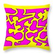 Dancing Fools Throw Pillow