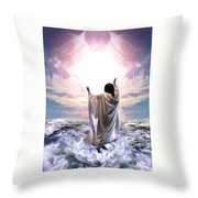 Dancing For My Father Throw Pillow