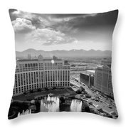 Dancing Fountains Throw Pillow