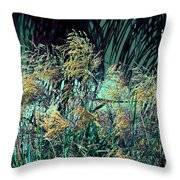 Dancing In The Light Throw Pillow by Susanne Van Hulst