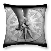 Dancing In The Right Direction Throw Pillow