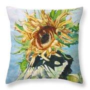 Dancing In The Sun  Throw Pillow