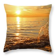 Dancing In The Sunlight 1 Throw Pillow