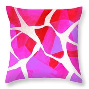 Dancing In The Woods 2.0 Throw Pillow