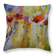 Dancing Ladies Throw Pillow