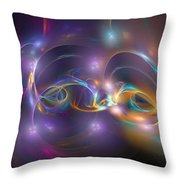 Dancing Light Throw Pillow