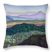 Dancing Light Of Northern New Mexico Throw Pillow