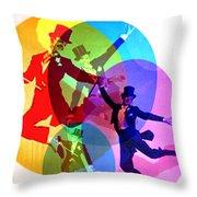 Dancing On Air Throw Pillow
