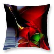 Dancing Polynomials Throw Pillow