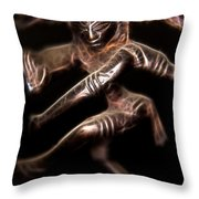Dancing Shiva Throw Pillow