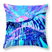 Dancing Sky Throw Pillow
