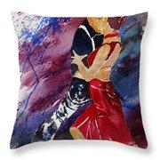 Dancing Tango Throw Pillow