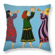 Dancing To The Music Throw Pillow