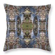 Dancing With Aspen Leaves Throw Pillow