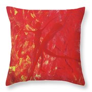 Dancing With Fire Rainbow Soul Collection Throw Pillow