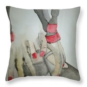 Dancing With Me Album Throw Pillow