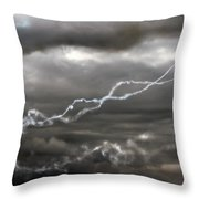 Dancing With The Clouds Throw Pillow