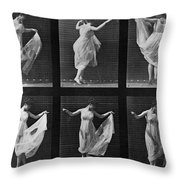 Dancing Woman Throw Pillow