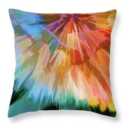 Dandelion Circus Throw Pillow