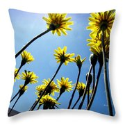 Dandelion Forest Throw Pillow
