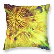 Dandelion Harvest Throw Pillow